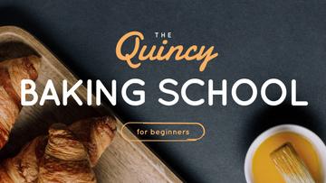 Baking School Ad Fresh Hot Croissants