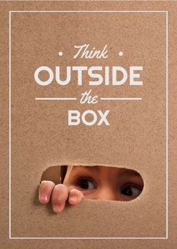 Children Creative Thinking Concept | Flyer Template