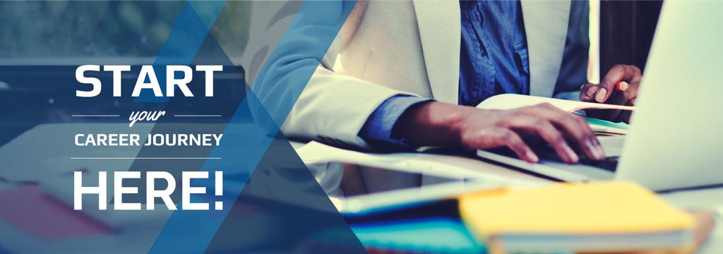 job invitation poster for corporation — Modelo de projeto