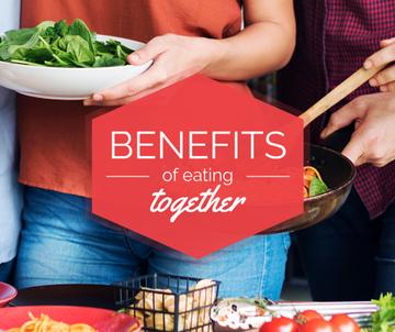 benefits of eating together poster