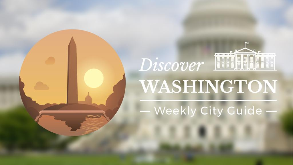 Washington Monument Travelling Attraction | Full Hd Video Template — Créer un visuel