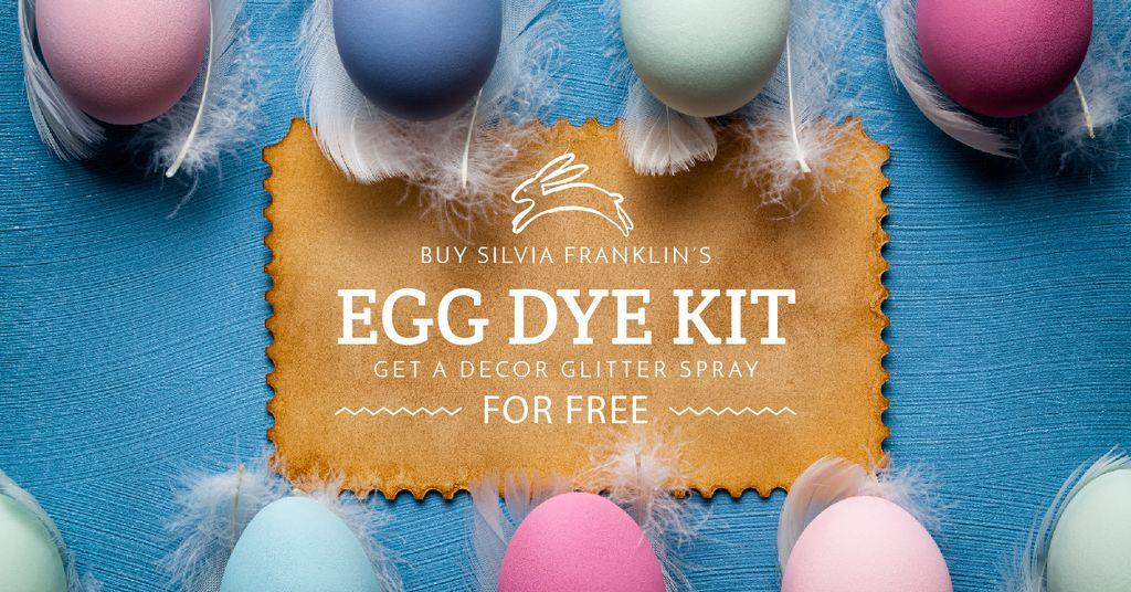 Egg dye kit sale — Створити дизайн