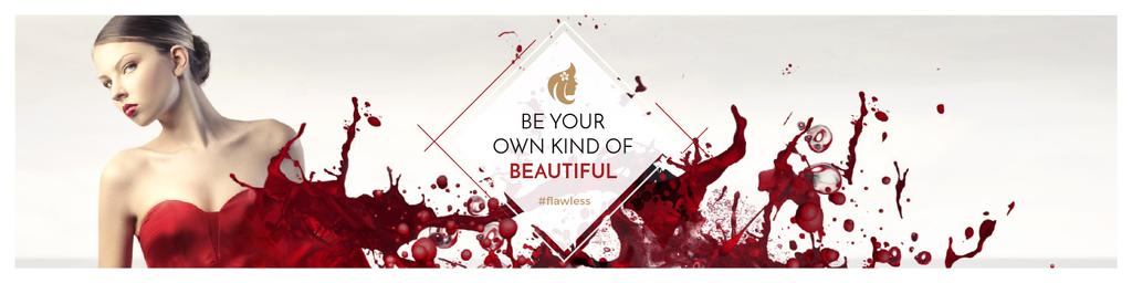 Citation for girls about beauty — Create a Design