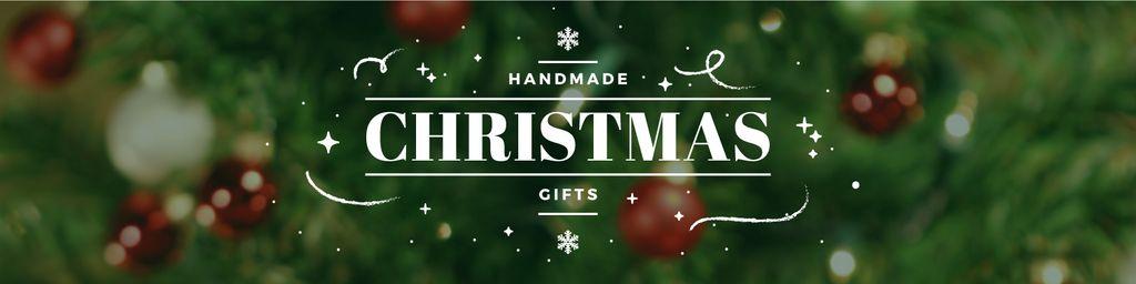 handmade Christmas gifts poster — Maak een ontwerp