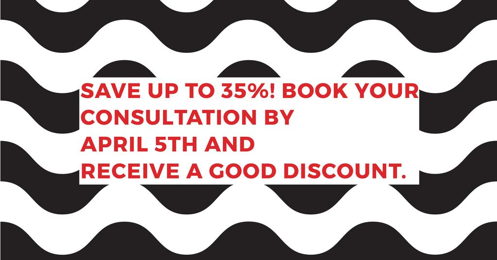 Business consultations with good discount — Crear un diseño
