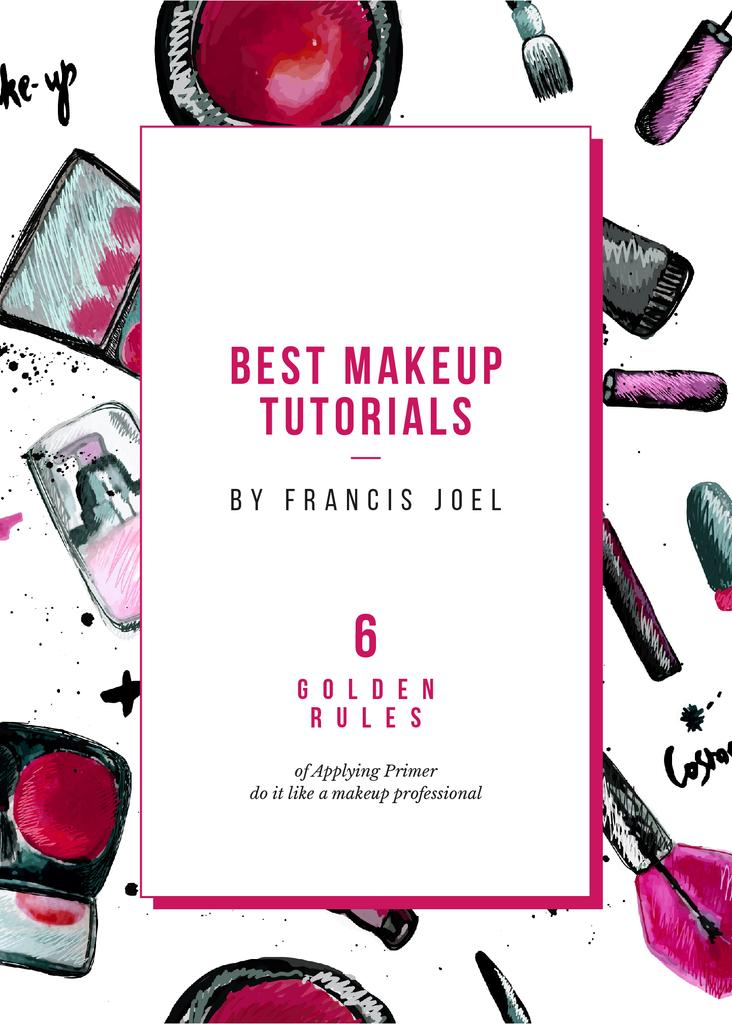 Makeup cosmetics composition — Crear un diseño