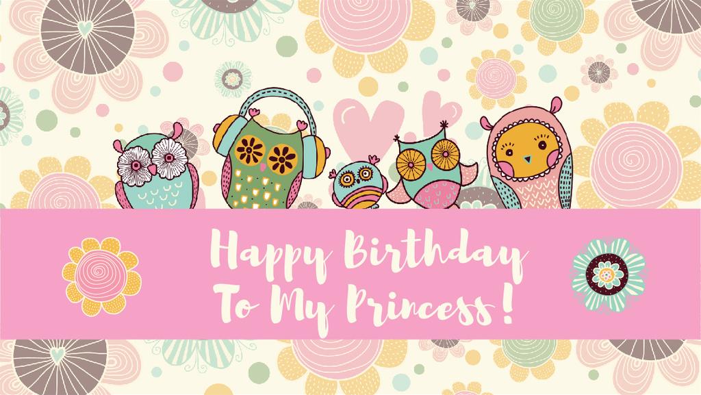 Happy Birthday Greeting Card Create A Design