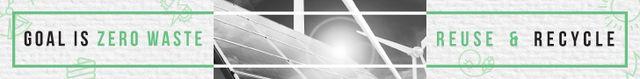 Ontwerpsjabloon van Leaderboard van Concept of Conserve energy for goal