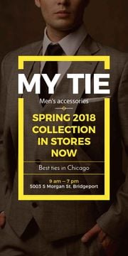 My tie store in Chicago