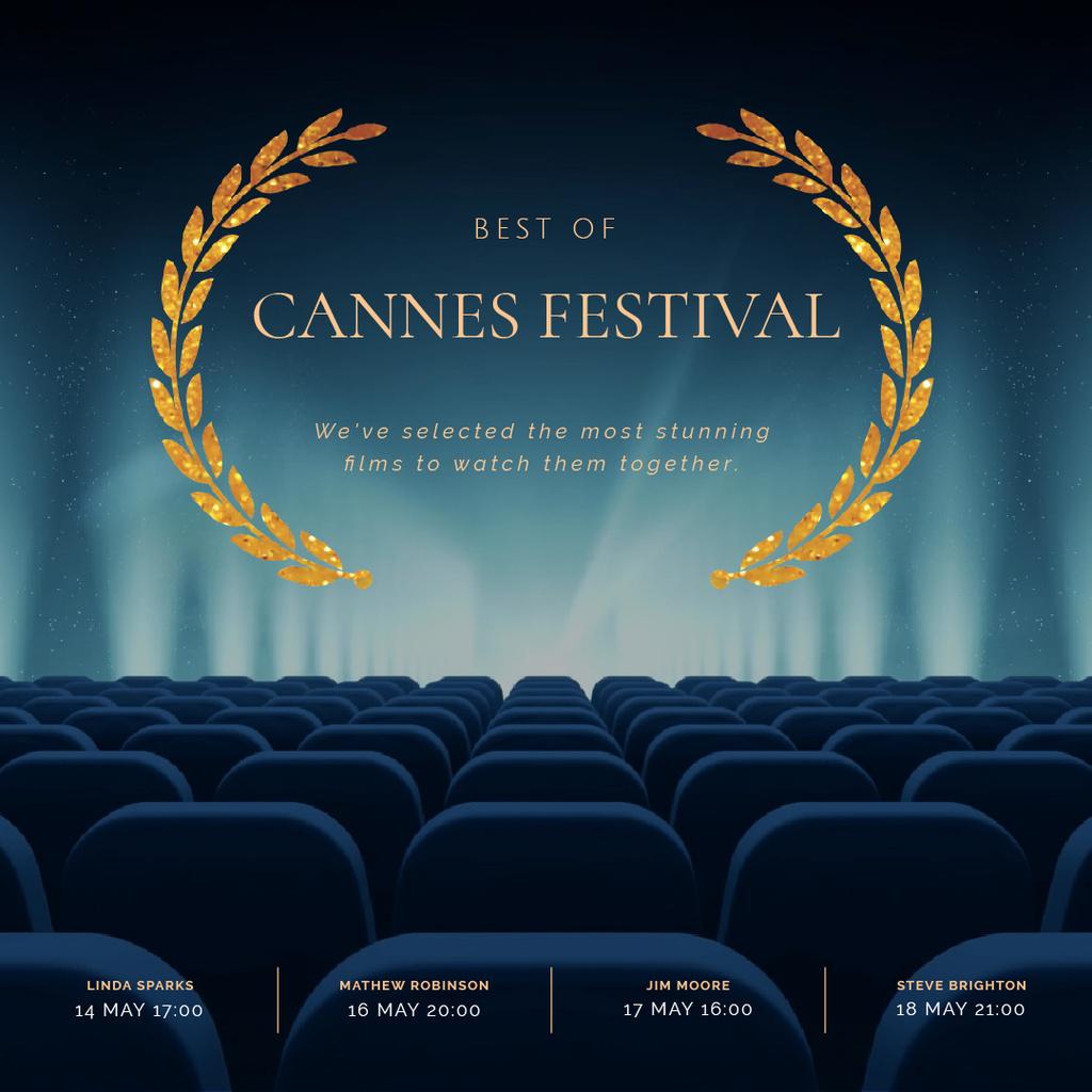 Cannes Film Festival poster — Create a Design