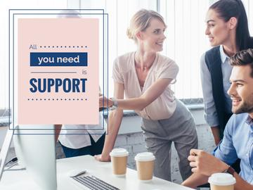 All you need is support