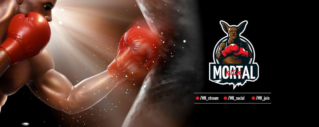 boxing Match announcement — Crear un diseño