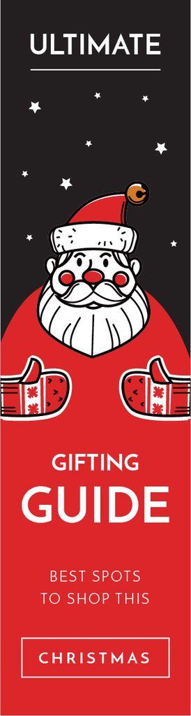 Red Santa Claus — Crear un diseño