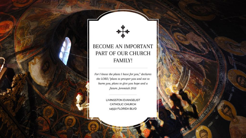 Livingston Evangelist Catholic Church — Create a Design
