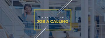 Make your job a calling poster