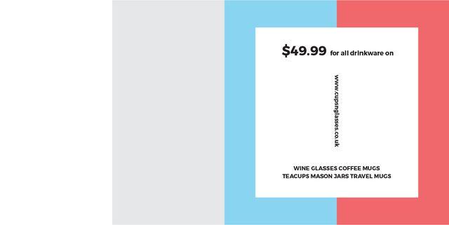 Plantilla de diseño de Shop Sale announcement on colorful Stripes Image