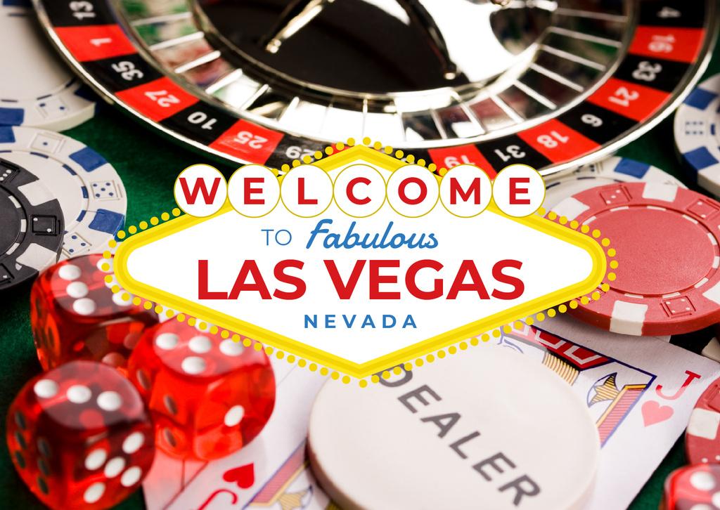Las Vegas Casino Invitation — Créer un visuel