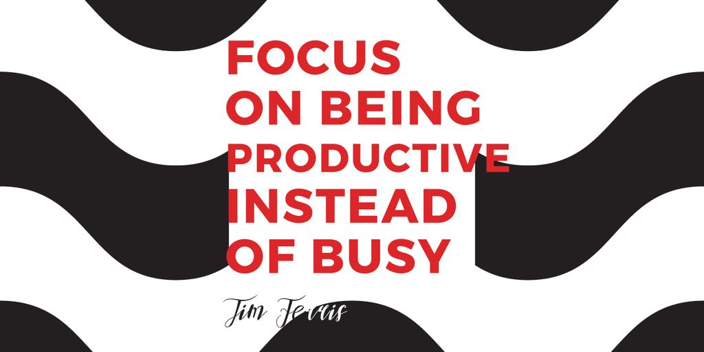 Citation about productivity for everyone — Maak een ontwerp