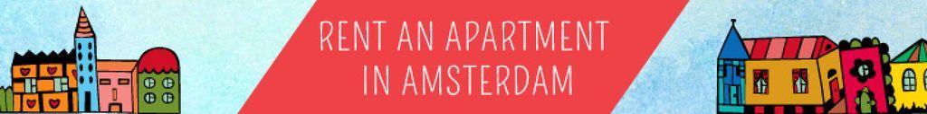 Real Estate Ad with Amsterdam Buildings — Modelo de projeto