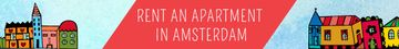 Real Estate Ad with Amsterdam Buildings
