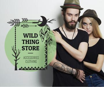 Wild thing store advertisement