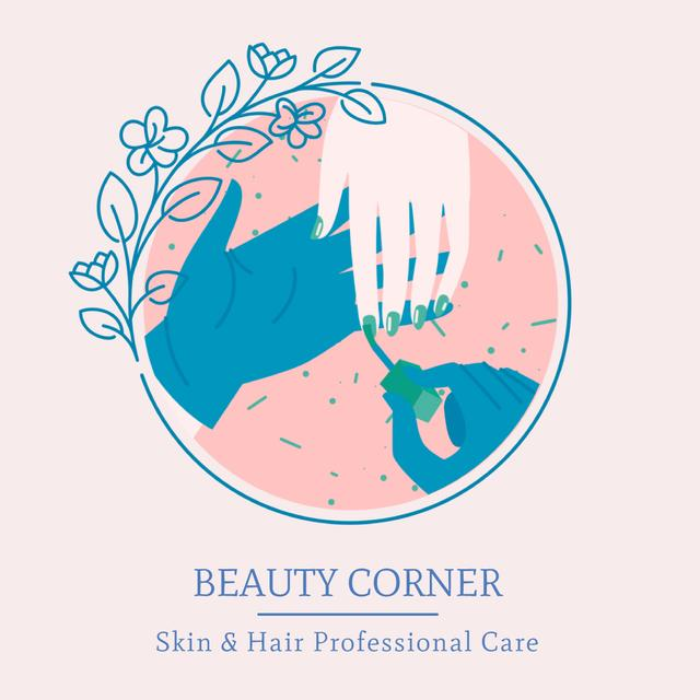 Ontwerpsjabloon van Animated Post van Professional beauty care Offer