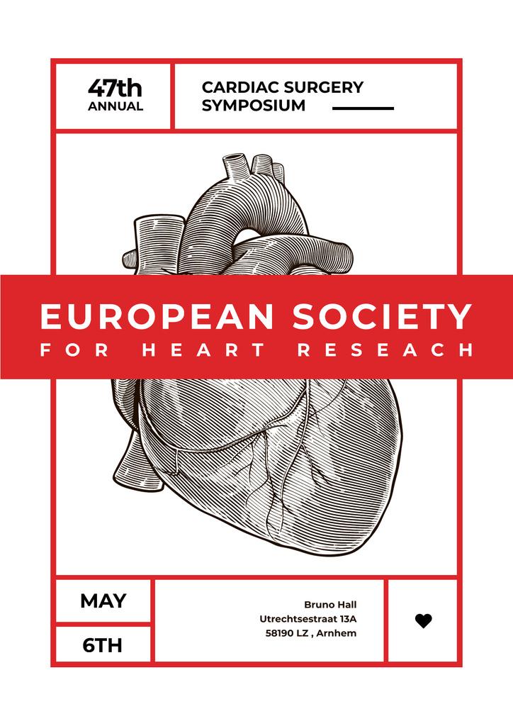 Annual cardiac surgery symposium — Создать дизайн