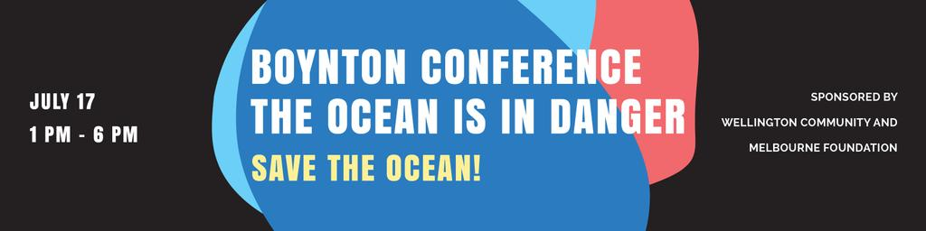 Szablon projektu Boynton conference the ocean is in danger Twitter