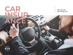 Car insurance with driver in car