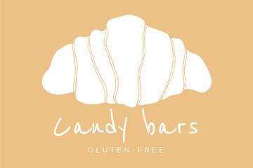 Candy Bar services promotion with Croissant
