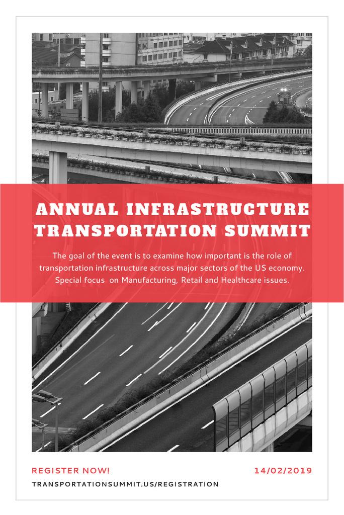 Annual infrastructure transportation summit — Crear un diseño