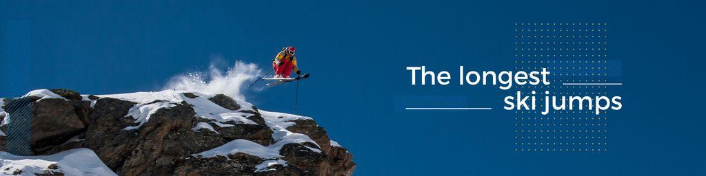 extreme sport poster with snowboarder — ein Design erstellen