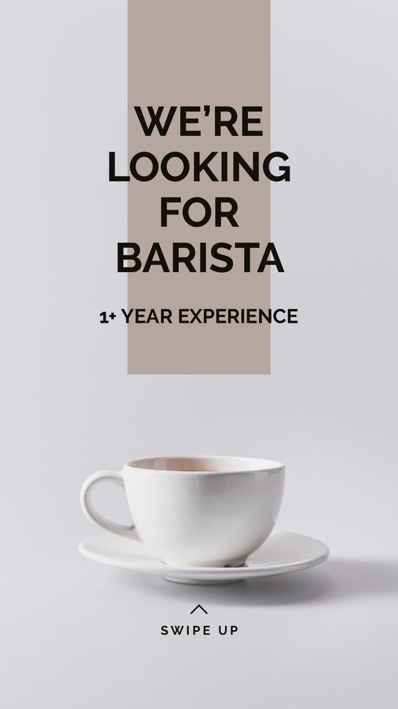 Cup of Coffee in white — Создать дизайн