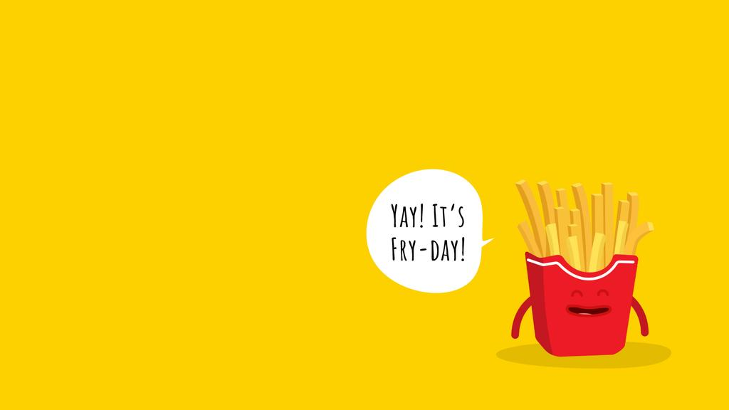 Jumping Funny French Fries — Créer un visuel
