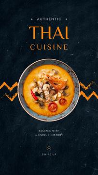 Tasty Thai cuisine dish