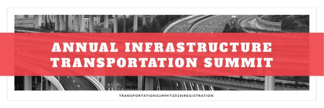 Szablon projektu Annual infrastructure transportation summit Twitter