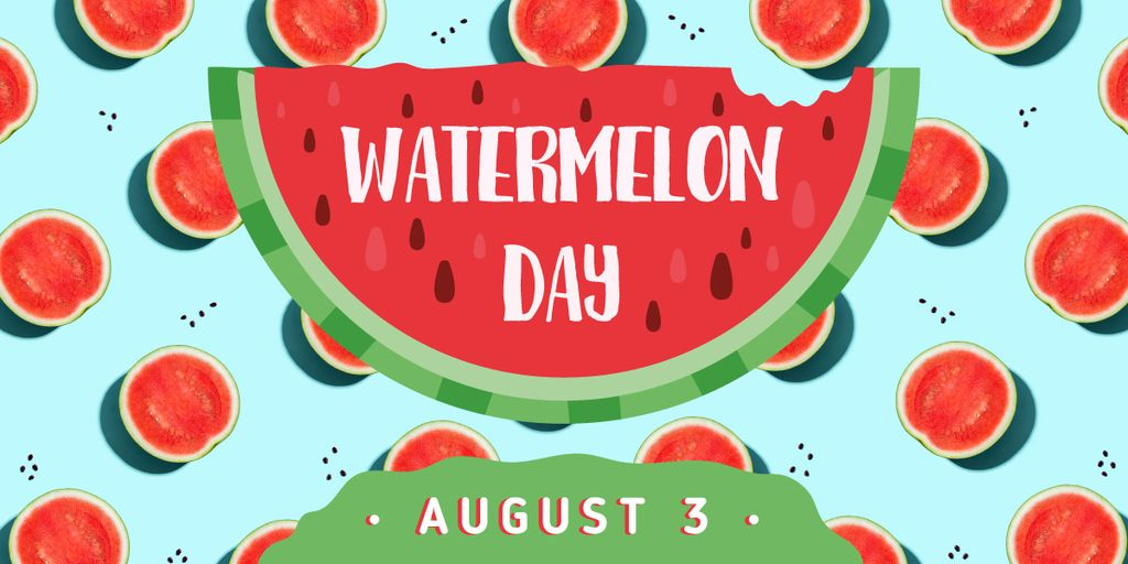Summer watermelon day — Создать дизайн
