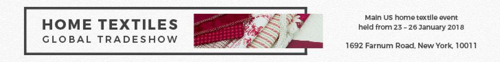 Home textiles global tradeshow — Crear un diseño