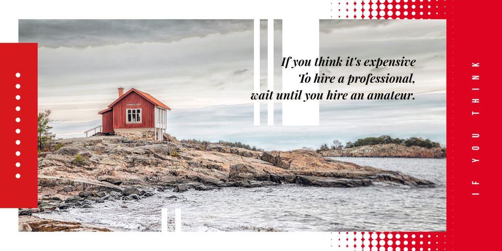 Small cabin by seacoast — Create a Design