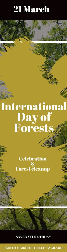 International Day of Forests Event Tall Trees – Stwórz projekt