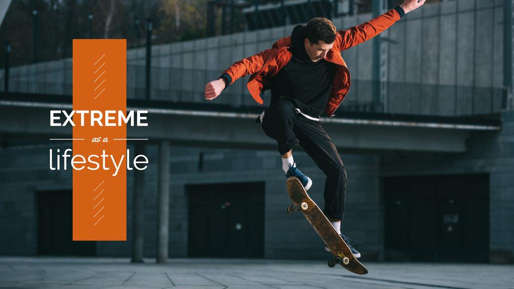 Extreme as a lifestyle poster — Создать дизайн