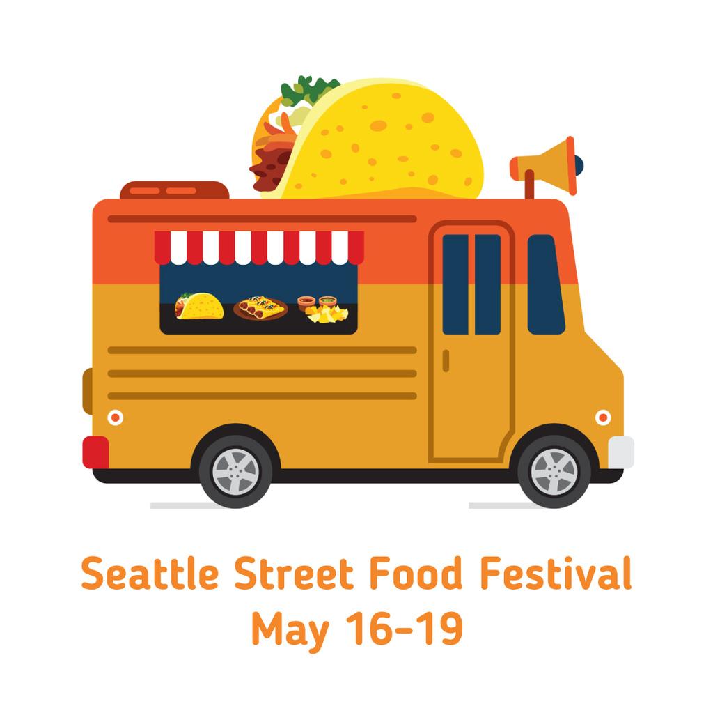 Van delivering street Food – Stwórz projekt