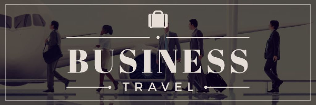 business travel banner — Create a Design