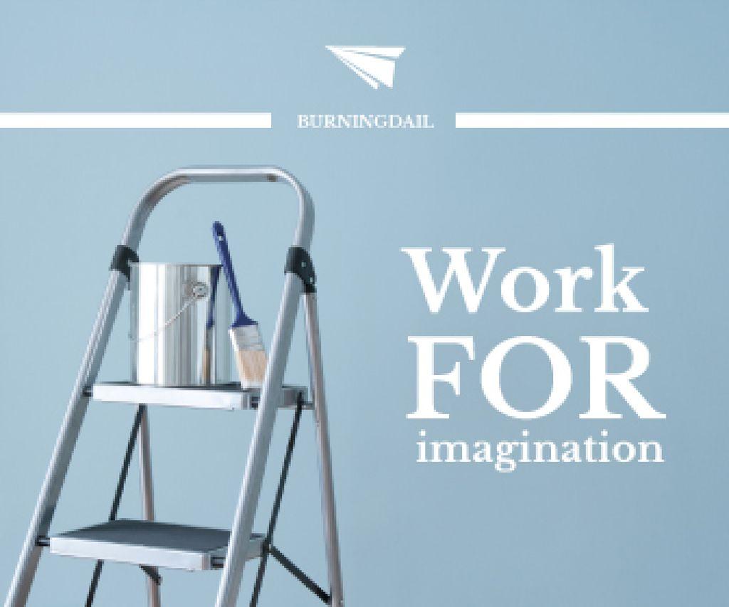 Tools for Home Renovation in Blue — Créer un visuel