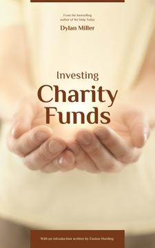 Charity Funds Hands Holding Glowing Light | eBook Template