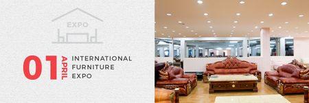 Template di design International Furniture Expo Email header