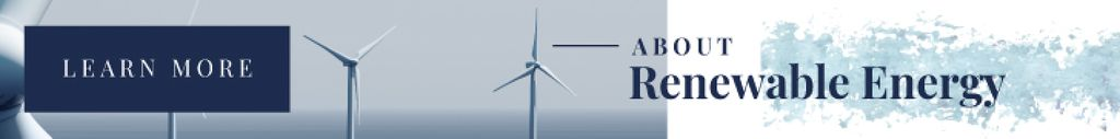 Renewable Energy Wind Turbines Farm — Crea un design