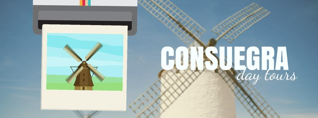 Consuegra Windmill Travelling Spots — Create a Design