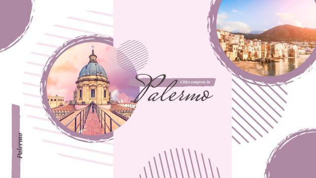 Palermo city view Youtube – шаблон для дизайна