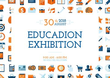 Education exhibition announcement